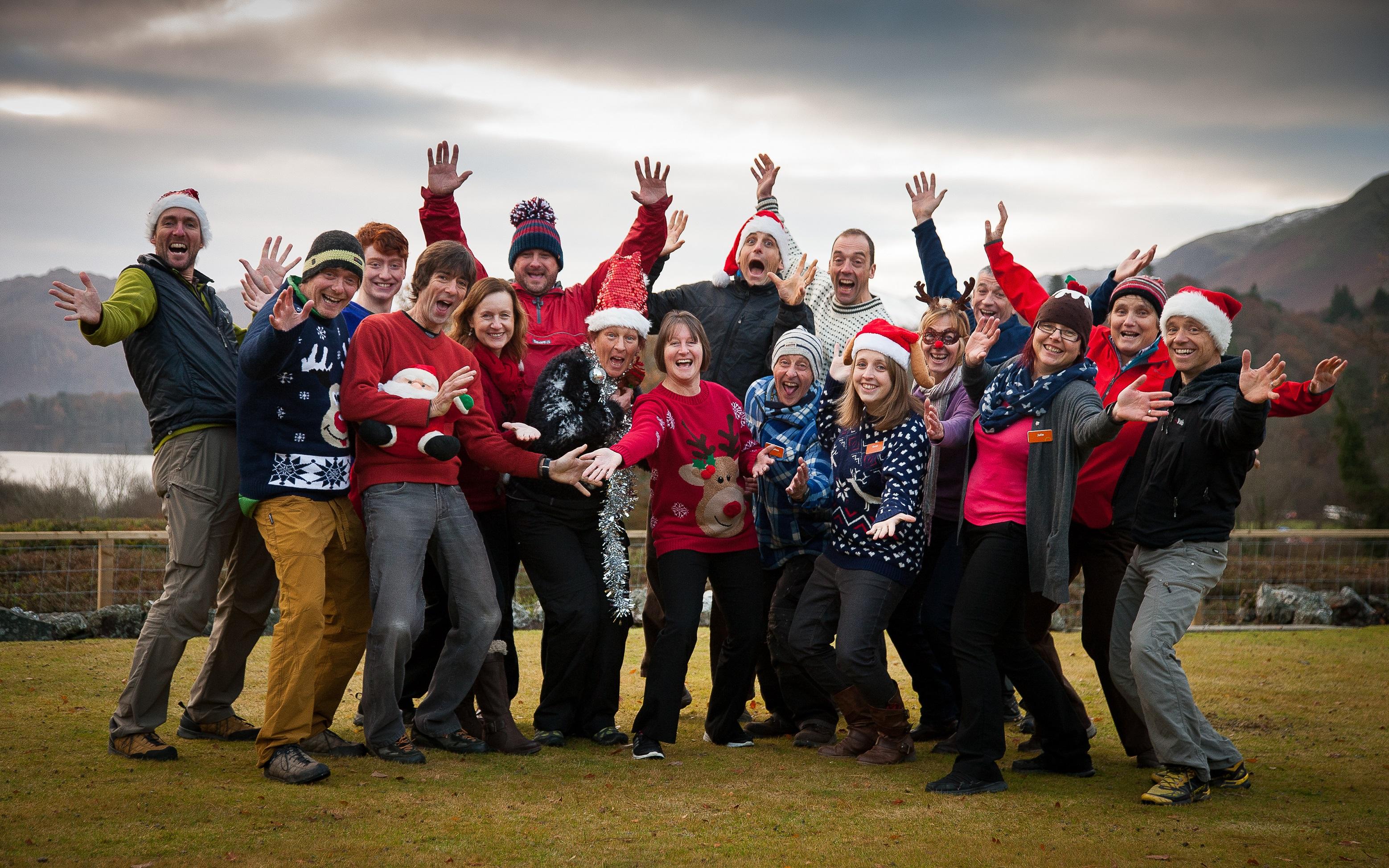 Staff Christmas photo 2
